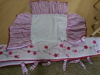 girl baby crib accessories Apple Valley, 92307