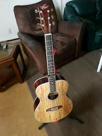 brown and black acoustic guitar Grimsby, L3M 1K9