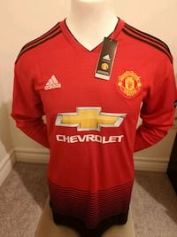 Brand new in tags Manchester United Jersey!  Mississauga, L5B 4M7
