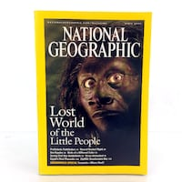 April 2005 National Geographic Magazine Lost World & Civil War Battlefields