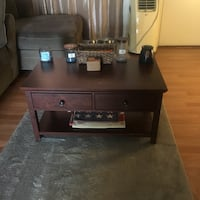 Wooden coffee table  Long Beach, 90802