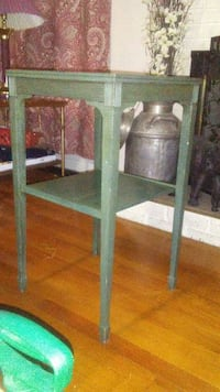 """Antique side table 28""""high"""