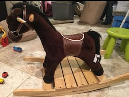 Toddler rocking horse.
