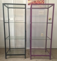 Shelving unit with glass shelves Lakeland, 33811