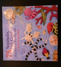 75 seashells, fish, coral and colorful marine life to knit and crochet book
