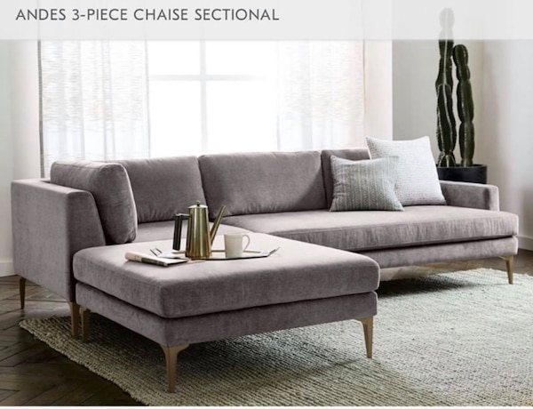 Prime West Elm Brand New Mid Century Modern Sofa Couch Large Ottoman Ocoug Best Dining Table And Chair Ideas Images Ocougorg