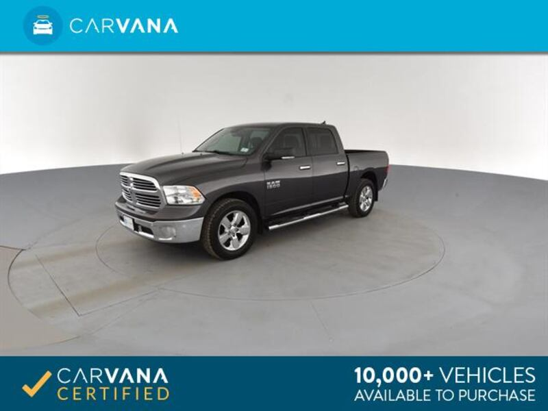 2016 Ram 1500 Crew Cab pickup Big Horn Pickup 4D 5 1/2 ft Gray <br 5