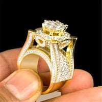 Brand new 925 Platinum plated rings Del City, 73129