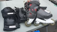 Men's Lightly used rollerblades. Size 13 *Smoke free home* Montréal, H1C 0B2