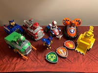 Paw patrol lot! Vehicles and action figures with power packs! Lancaster, 17601