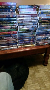 VHS Tapes 52 including alot of Disney