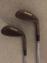 60 & 54 cleveland golf wedges- tour raw