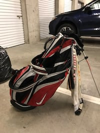 Nike stand up golf bag