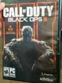 Call of Duty Black Ops 3 Xbox 360 game case Merced, 95340