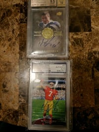 Colin kap signed mint condition cards