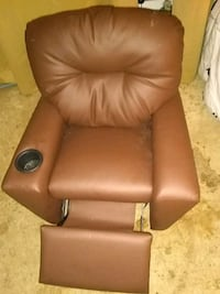 Soft leather childs recliner Venice, 34285