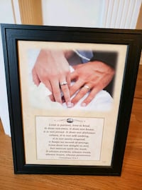 Frame with wedding quote