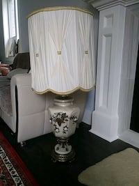 white and brown table lamp London, N6P 0B3