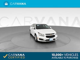 2016 Chevy *Chevrolet* *Cruze* *Limited* 1LT Sedan 4D sedan White