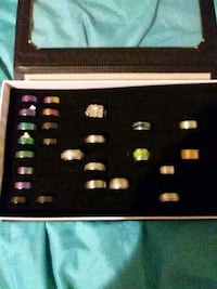 Assorted rings different sizes Lindale, 30147