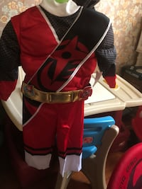 2t power ranger costume  Ranson, 25438