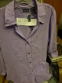 Lilac New York  & Co blouse new WASHINGTON