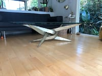 Beautiful torch cut Silas Seandel coffee table.  Mid century modern.  Really a nice piece at a great price! Los Angeles, 90068