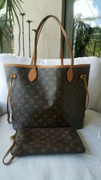 Authentic Louis Vuitton Neverfull MM with Pouch Orlando, 32836