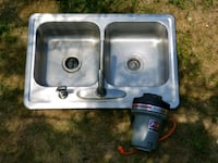 """Kitchen sink 2 sided - 33""""X22"""" with Sink Master Di Boyne City, 49712"""