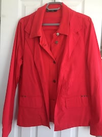 Red button-up coat Guelph, N1E 0J1