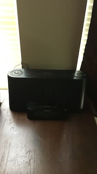 black Sony dock speaker Waco, 76705