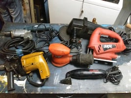 A Variety of Power Tools!