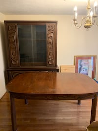 Dining room table and china cabinet  Beltsville, 20705