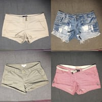 4 Pairs Shorts - Size 0 - price for all 4 Vancouver, V5R