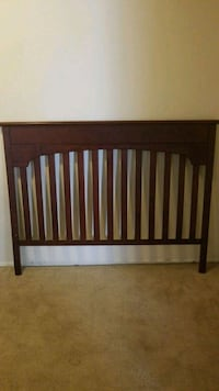 Real mahogany wood full size headboard Laurel, 20708