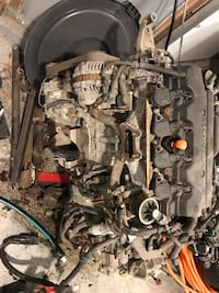 Engine: 1.8 L 4-cylinder 2010 Honda Civic LX Litchfield, 03052