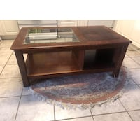 Coffee table - wood and glass Richmond Hill, L4C 1A7