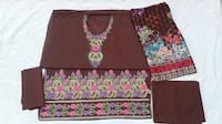 Embroidered Lawn Suit with Chiffon Dupatta-DKC 11379 km
