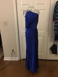 Cache Royal Blue Prom Dress Size 6 Cary