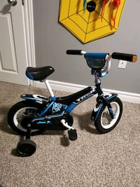 black and blue trike with training wheels London, N6K 2S5
