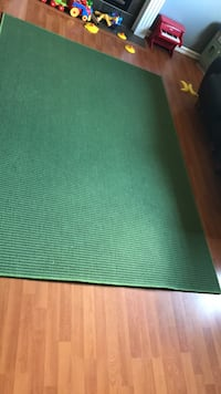 Green area rug with cushions Edmonton, T5T 6X1