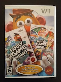 2 Wii games in 1 Hasbro Family Game Night 1 & 2 Vaughan, L4L