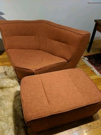 Chair and ottoman - obo