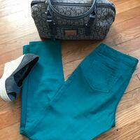 Kenneth Cole Turquoise Skinny Jeans size 29P Wilmington, 19804