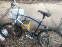 Cannon dale road bike very nice bike and a diamondback mountain bike both are good bike just no uses for them right all offers will be considered