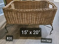 Nice big basket with iron legs! Thurmont, 21788