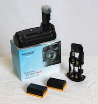 Neewer Battery Grip Holder (Replacement for BG-E14) for Canon 70D/80D