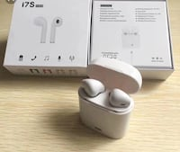 White i7s wireless earphones with box Montgomery Village, 20886