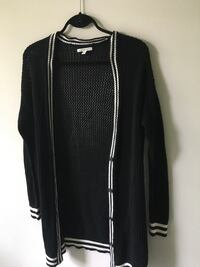black and white Adidas zip-up jacket Vancouver, V6K 2A7