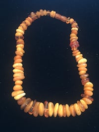 Amber necklace  Toronto, M2R 3N1
